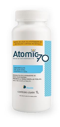 Desinfetante de alto nivel atomic 70