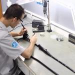 Conserto de endoscopio