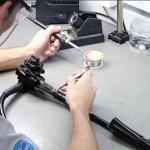 Manutenção endoscopio